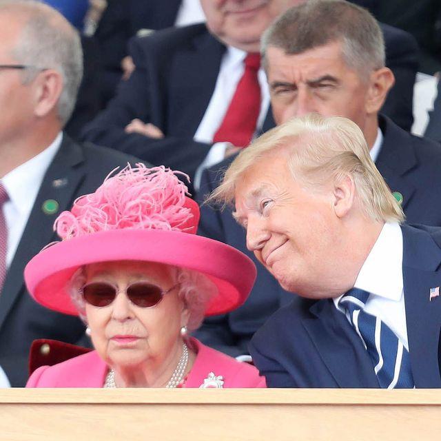 エリザベス女王 ドナルド・トランプ ロイヤルファミリー