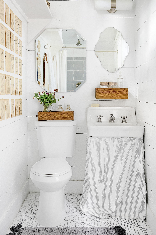 5 Half Bathroom Ideas - Decor Ideas for Small Spaces