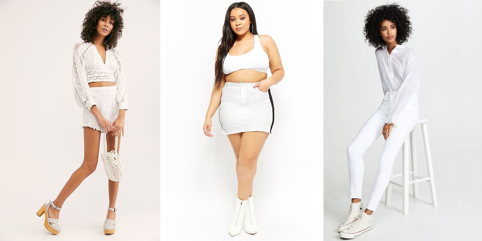 a8c09239c9 15 All-White Outfit Ideas — Cute Outfit Ideas for Summer 2019