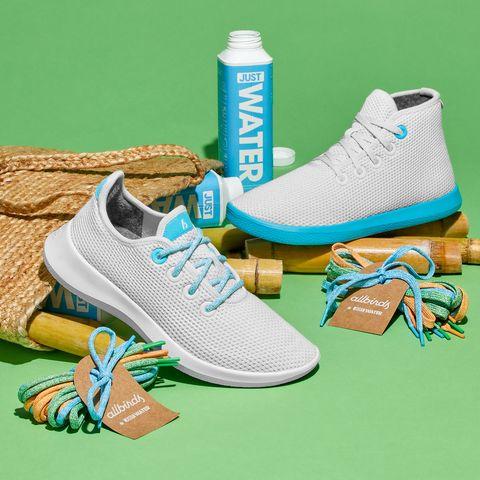 Footwear, Shoe, Aqua, Turquoise, Blue, Sneakers, Running shoe, Teal, Walking shoe, Outdoor shoe,