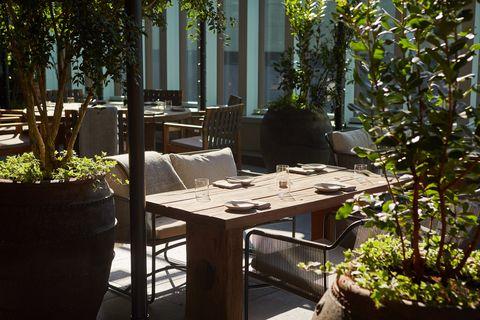 best restaurants with terraces