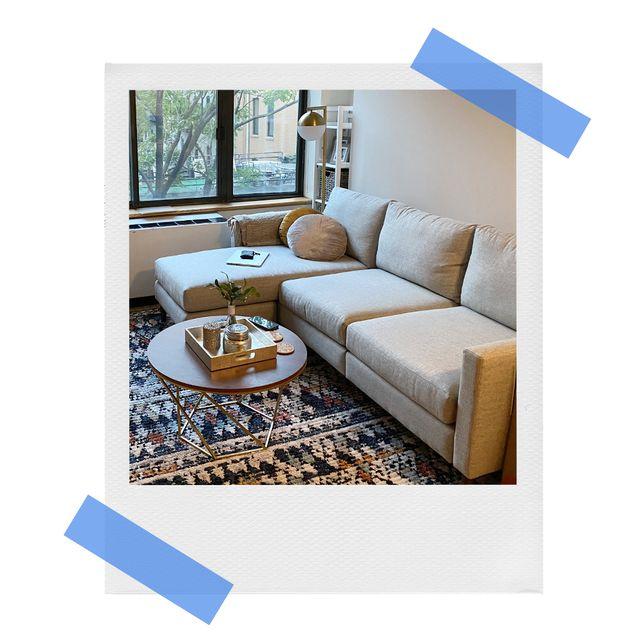 allform sofa in living room