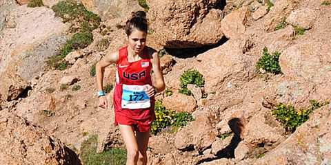 Allie McLaughlin at 2014 Pikes Peak Ascent