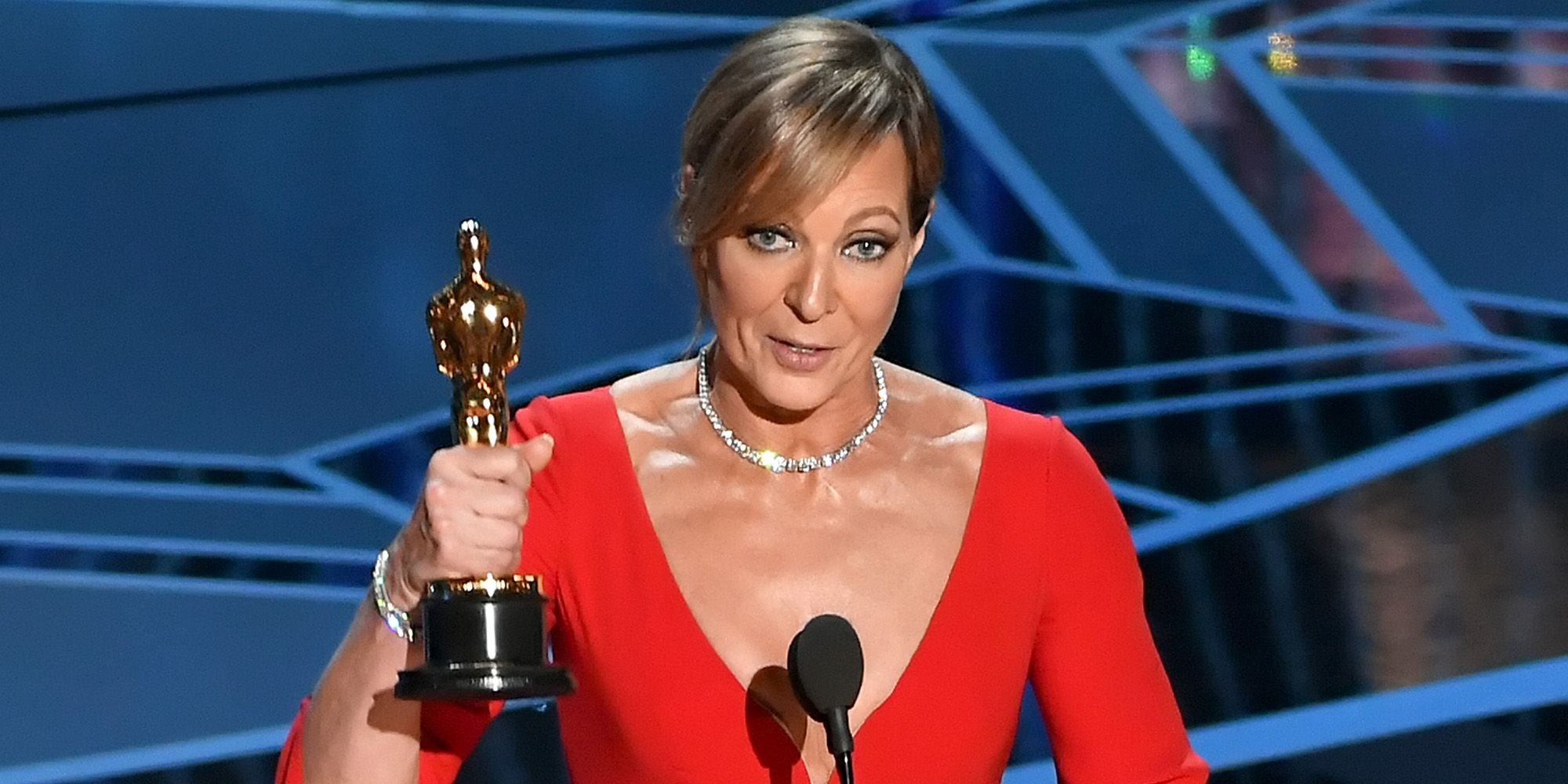 Allison Janney Nudography allison janney oscars speech 2018 - i tonya wins best