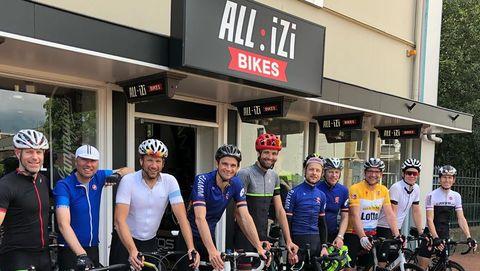Bicycling Club Ride Allizi 4 oktober