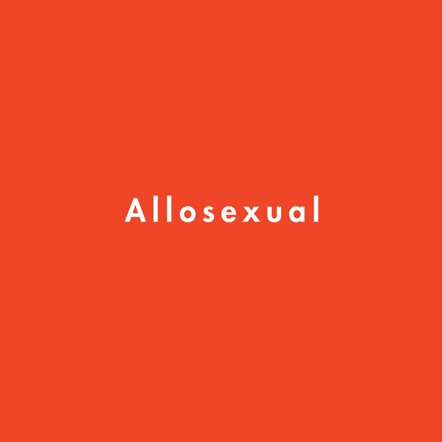 allosexual definition