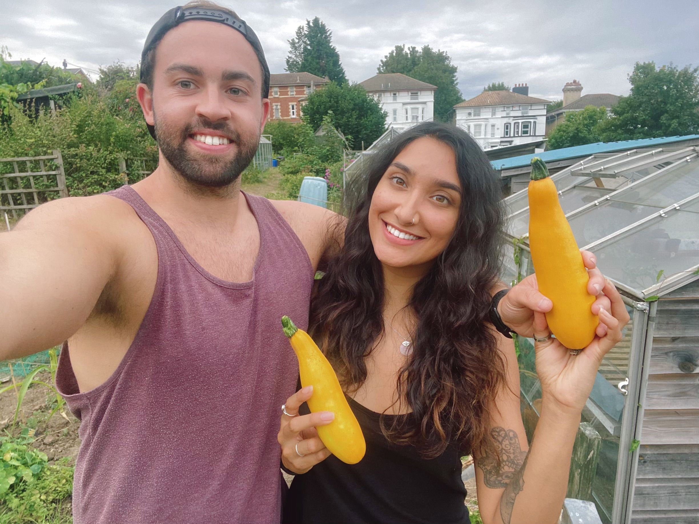 A millennial gardener: 'From a rickety PVC greenhouse to my first allotment plot'
