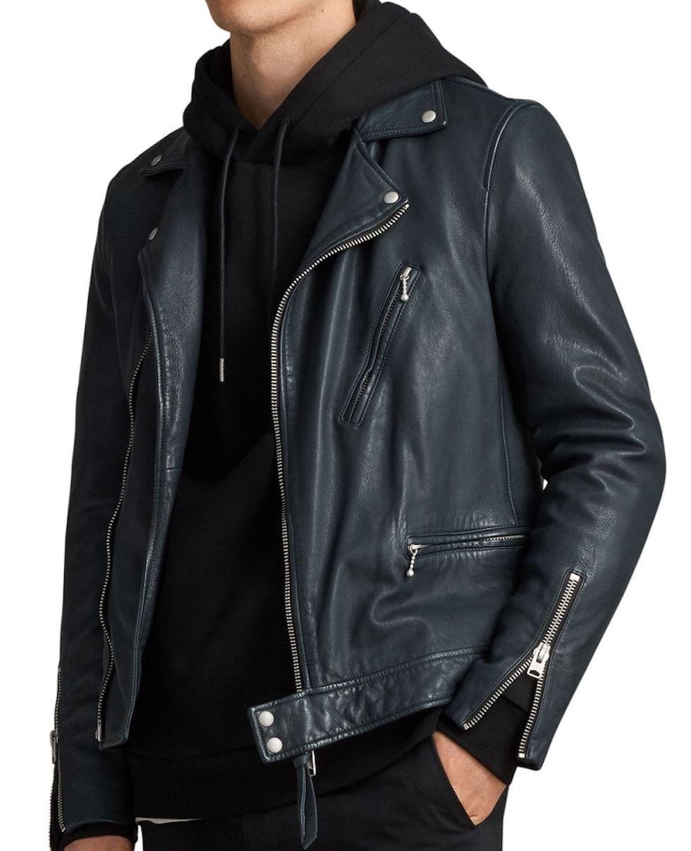 Allsaints SlimFitLeather Jacket