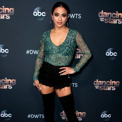 ally brooke weight loss dwts