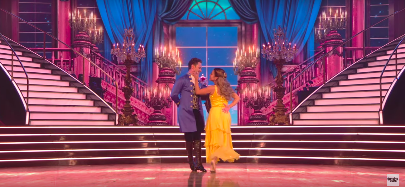 Ally Brooke Scored the First 9s of 'DWTS' With Her 'Beauty and the Beast'-Inspired Contemporary Routine