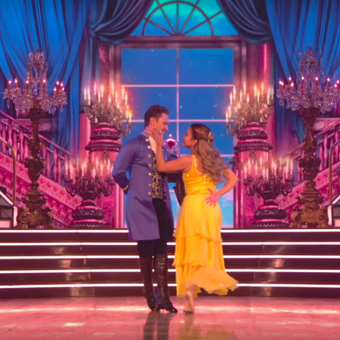 ally brooke dwts beauty and the beast
