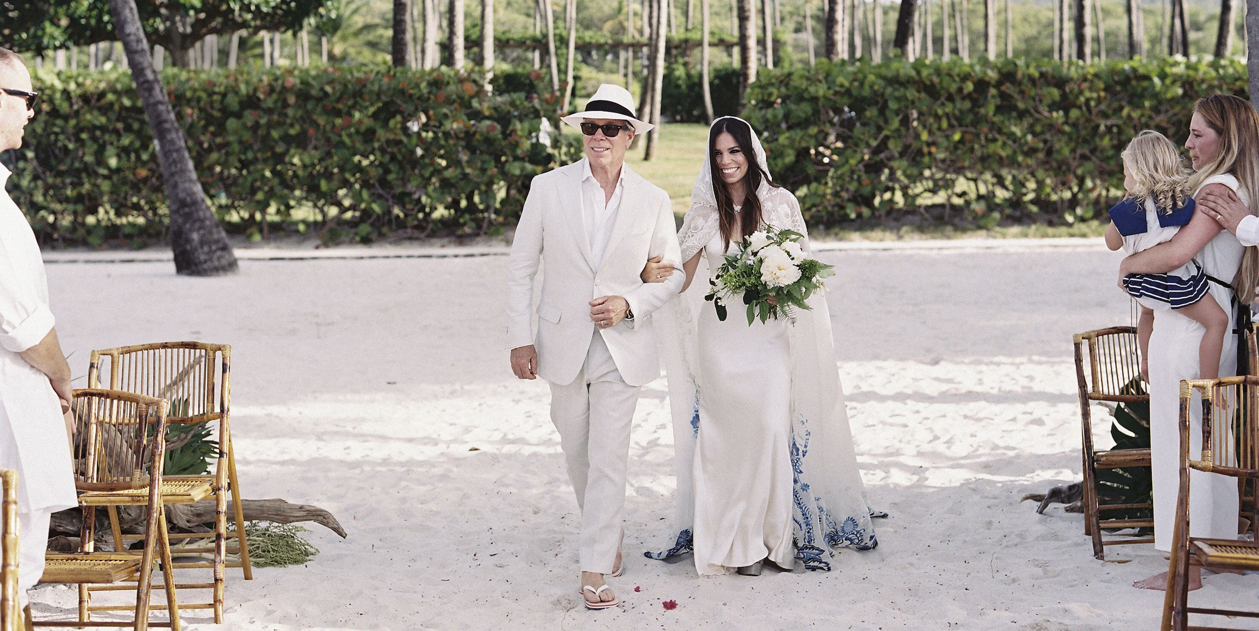Ally Hilfiger wedding Steve Hash Mustique