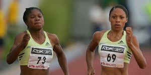 Récords estadio Vallehermoso: Allyson Felix en el Mitin de Madrid 2006: