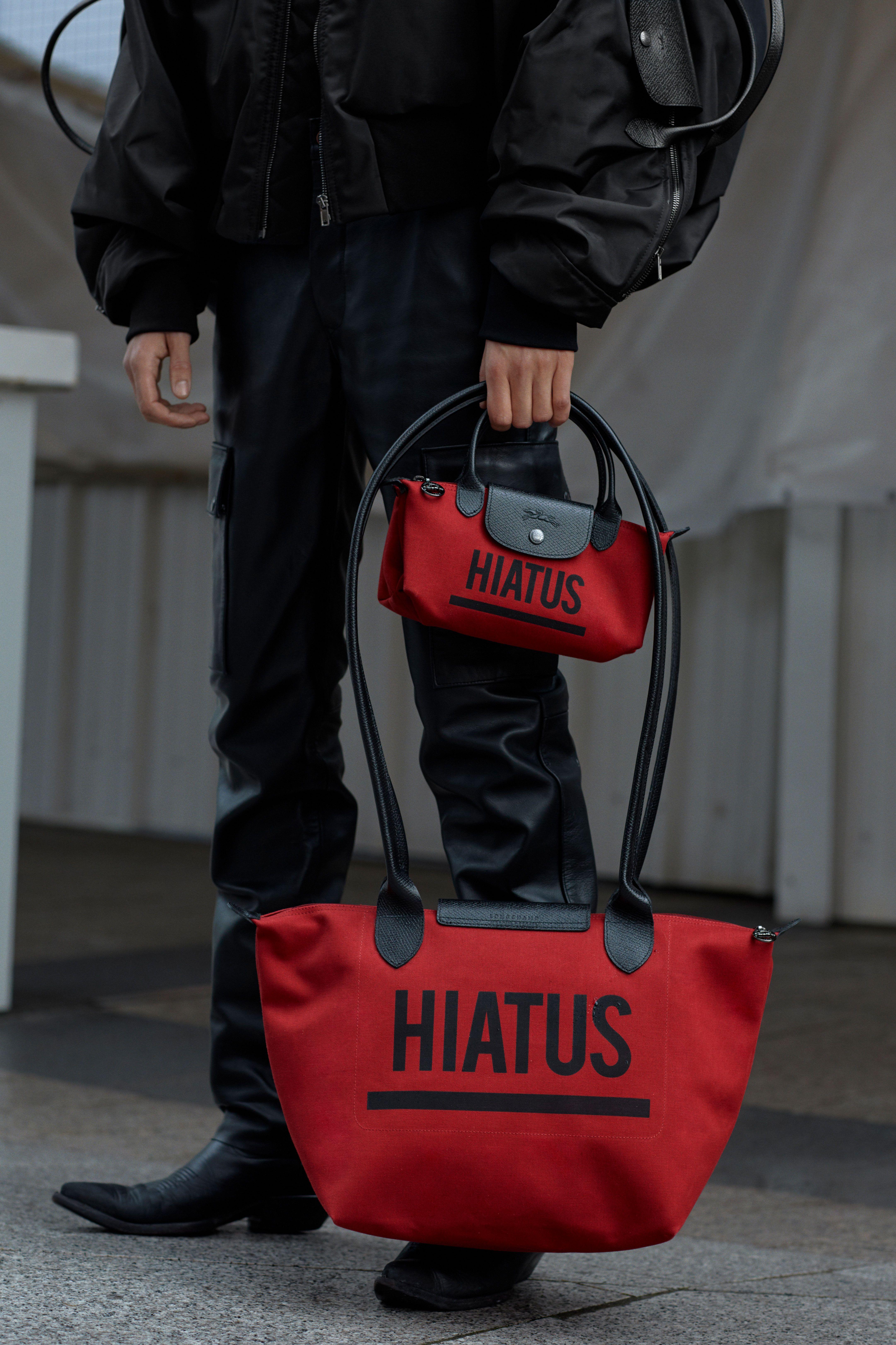 Shayne Oliver Gives Longchamp's Handbag Staple a High Fashion Twist