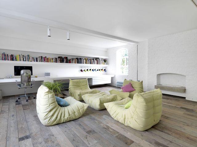 un almacén de londres convertido en un loft moderno