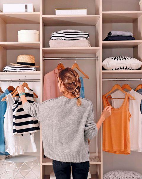Ideas prácticas para el cambio de armario