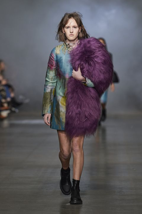 Marques'Almeida Herfst/Winter 2020 op London Fashion Week