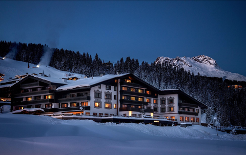 Luxury ski resort