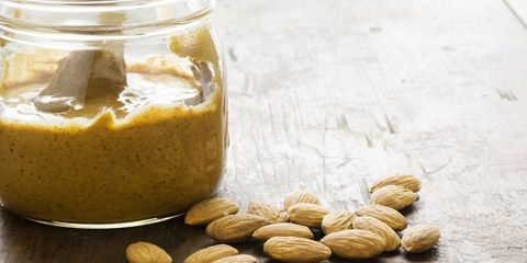 Food, Ingredient, Cuisine, Dish, Nut butter, Peanut butter, Produce, Vegetarian food, Mason jar, Walnut,