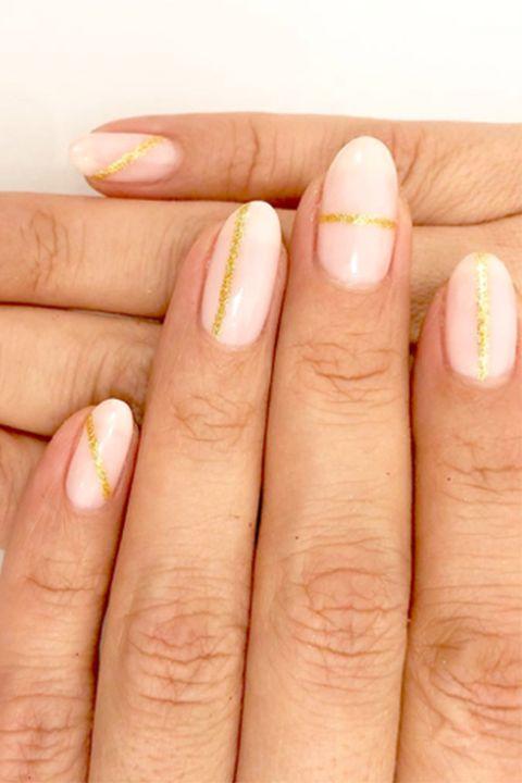 20 Glitter Nail Art Ideas Tutorials For Glitter Nail Designs