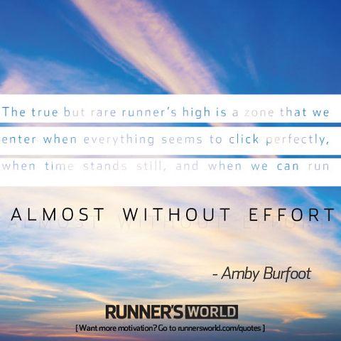The Runner's High