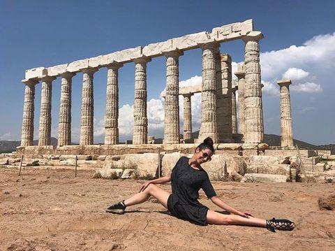 Ancient history, Ancient greek temple, Column, Ancient roman architecture, Ruins, Historic site, Roman temple, Architecture, History, Temple,