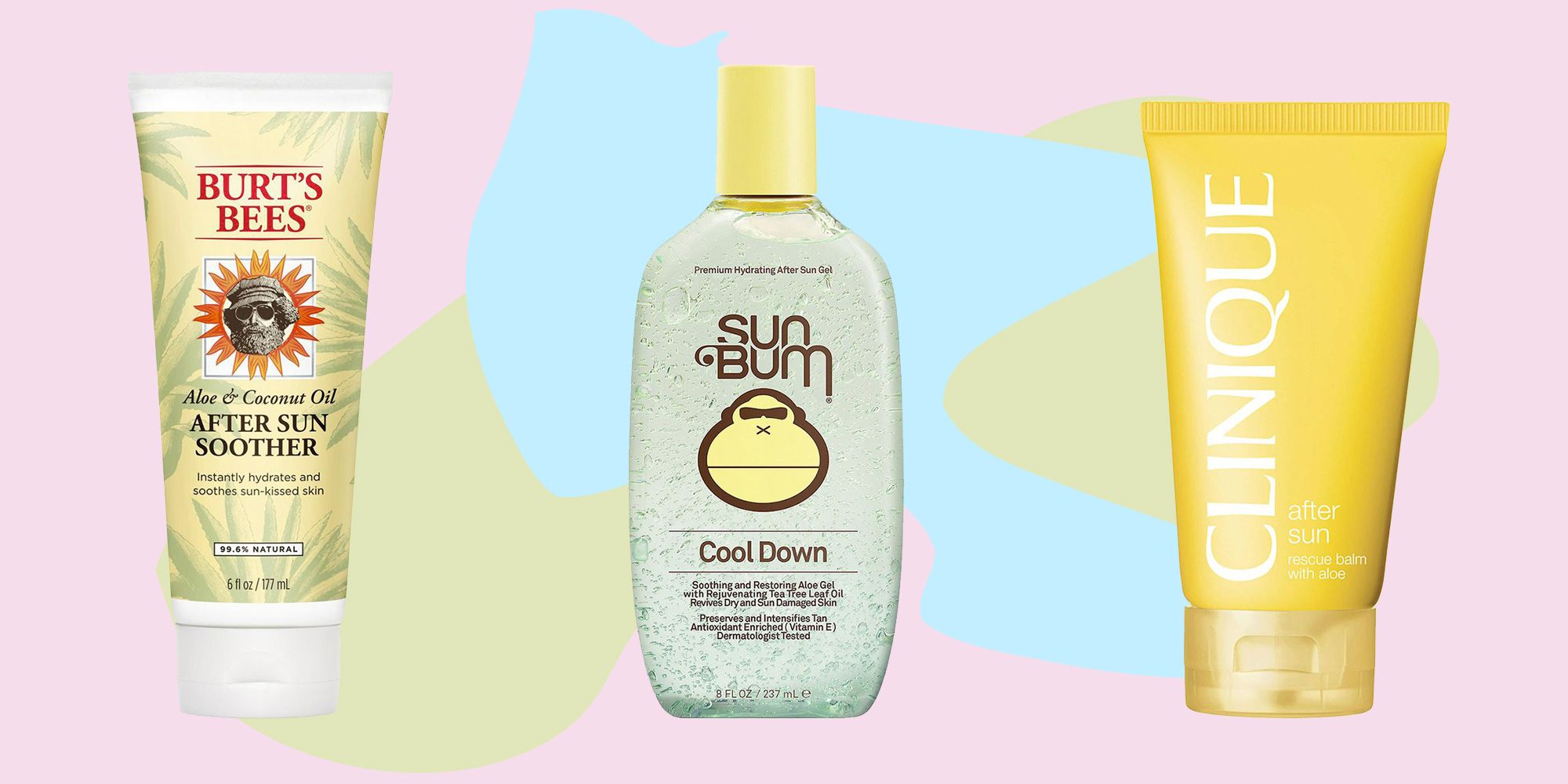 7 Best Aloe Vera Gels For Treating Sunburns And Pain Soothing Skincare Products For Burns