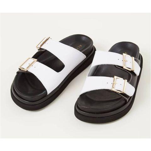 alohas buckle sandalen wit