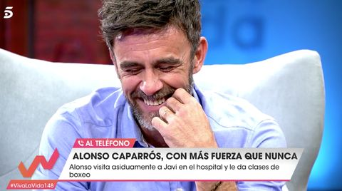 Alonso Caparrós, Alonso Caparrós los momentos más duros vida, Alonso Caparrós Viva la vida, Alonso Caprrós entrevista, Alonso Caparrós entrevista Emma García