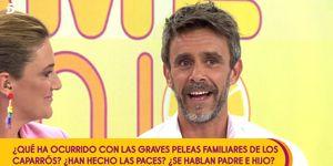 Alonso Caparrós, Alonso Caparrós enfrentamiento padre, Alonso Caparrós reconciliación padre, Alonso Caparrós Furor