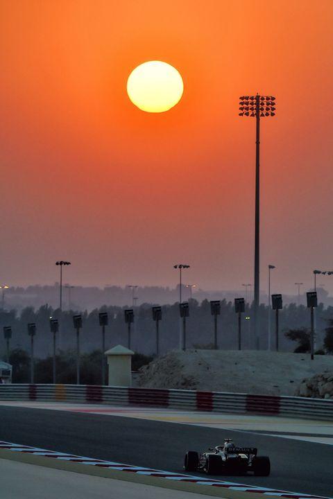 Fernando Alonso - Test Renault RS18 - Bahréin