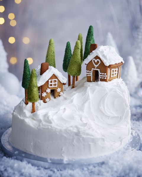 Christmas Cake Decorations How To Decorate A Christmas Cake