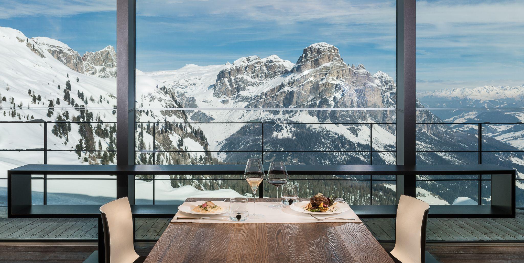 I rifugi gourmand e gli ski resort per foodisti d'alta quota