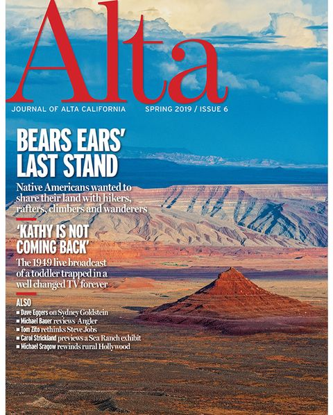 alta cover, spring 2019, issue 6, bears ears' last stand