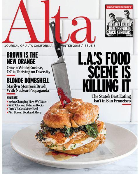 alta cover, winter 2018, issue 5, la's food scene is killing it