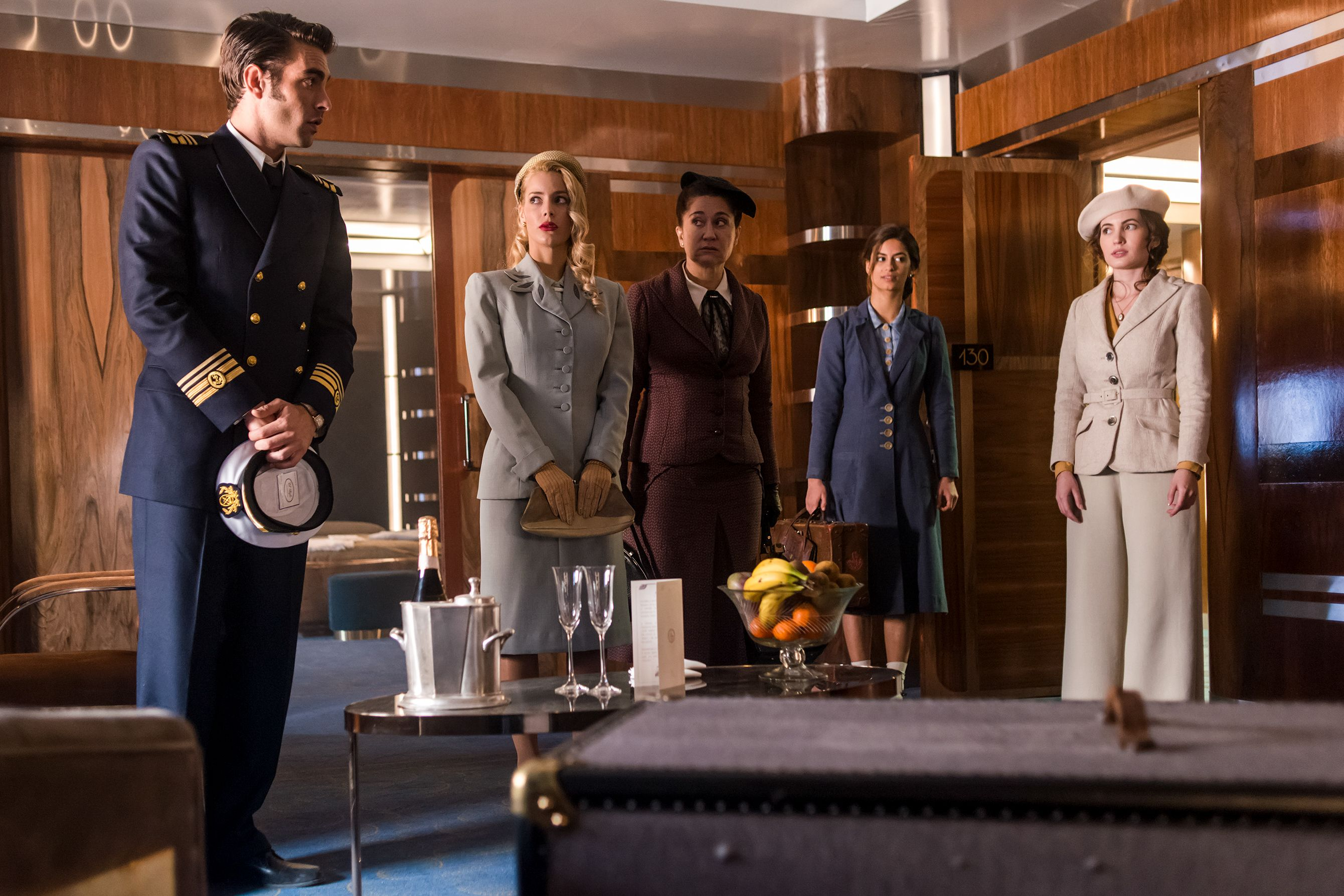 'Alta Mar' confirma el reparto de su segunda temporada