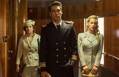 Ivana Baquero, Jon Kortajarena y Alejandra Onieva en Alta Mar, la nueva serie española de Netflix