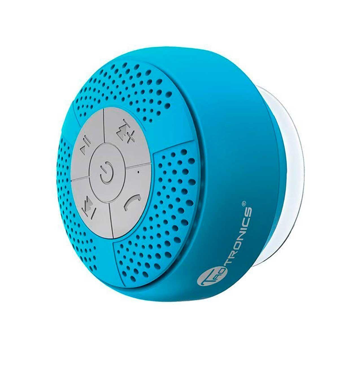 Altavoz Bluetooth de ducha impermeablede TaoTroncis para escuchar música o hablar por teléfono mientras te duchas,en Amazon