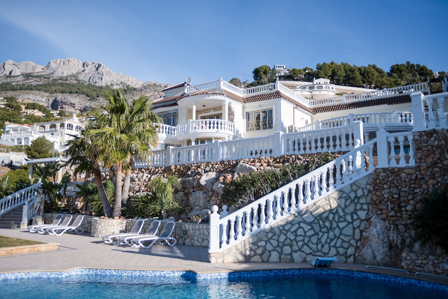 Exceptional 10 Bedroom Spanish Villa For Sale In Altea