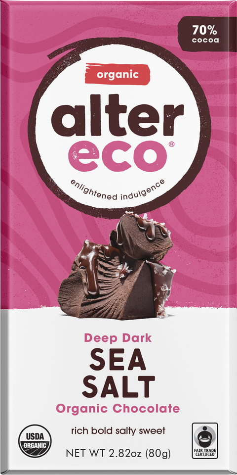 Alter Eco chocolate bar