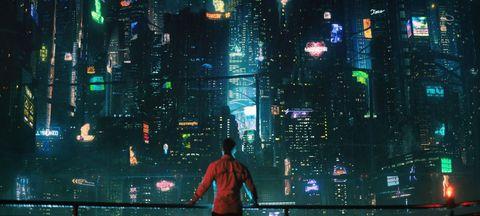Metropolitan area, Metropolis, City, Human settlement, Urban area, Cityscape, Night, Skyscraper, Pc game, Midnight,