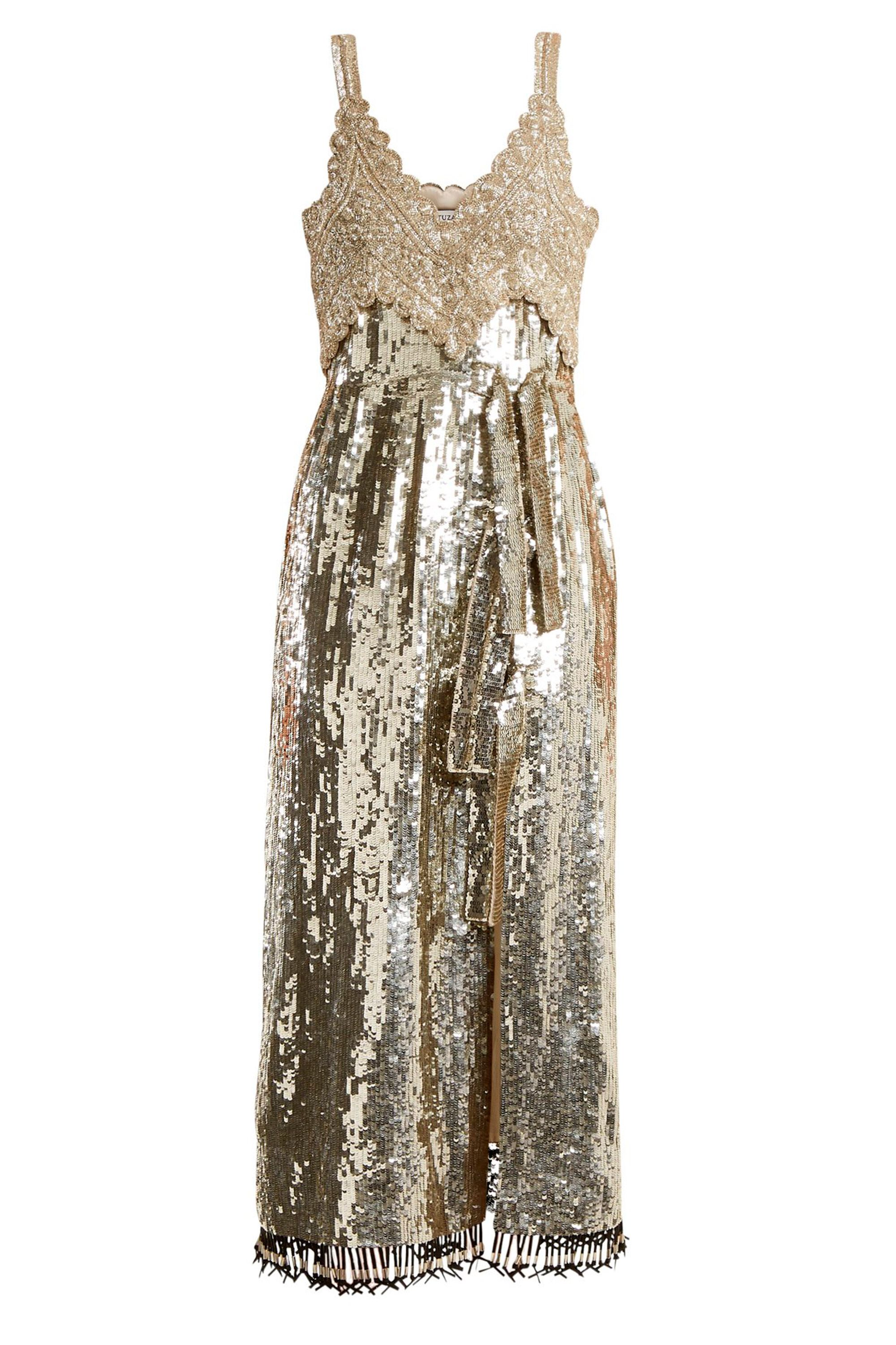 How to wear sequins to weddings