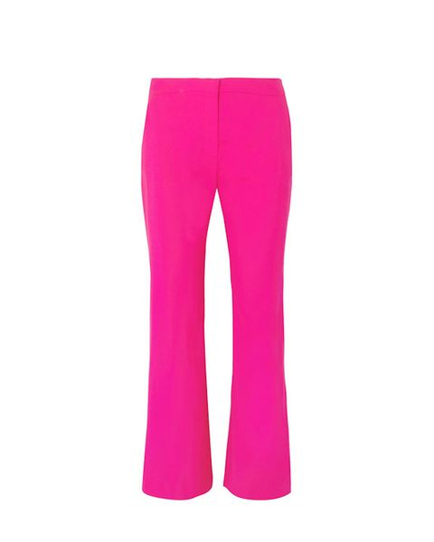Clothing, Pink, Active pants, Sportswear, sweatpant, Trousers, Magenta, Leggings, Pocket, Tights,