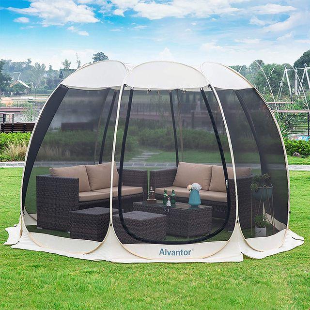 alvantor mesh pop up tent