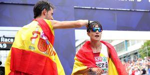 Álvaro Martín y María Pérez lideran a España en la Copa de Europa de Marcha de Lituania