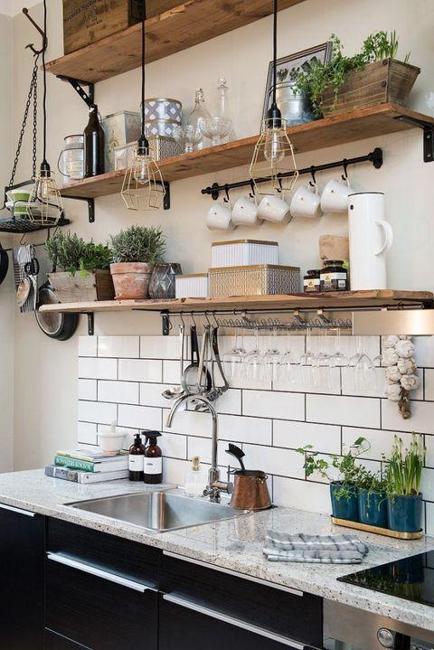 6 cocinas rústicas vs 6 urbanas ¿Cuál es tu estilo? - ELLE Decor