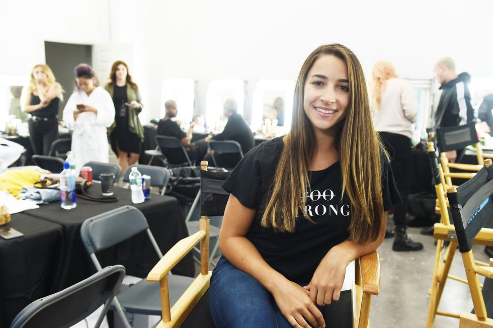Aly Raisman, Jackie Aina and More of Your Faves Walked a No-Makeup Runway Show