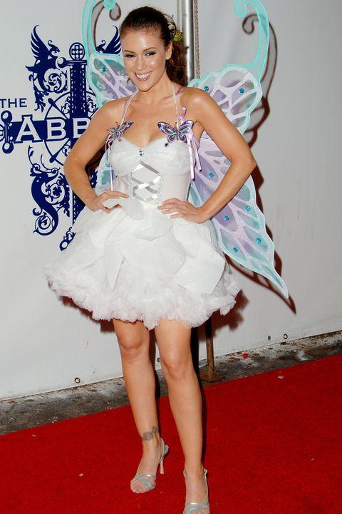 Alyssa Milano Butterfly Halloween Costume