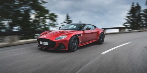 2019 Aston Martin Dbs Superleggera Acing The Genre