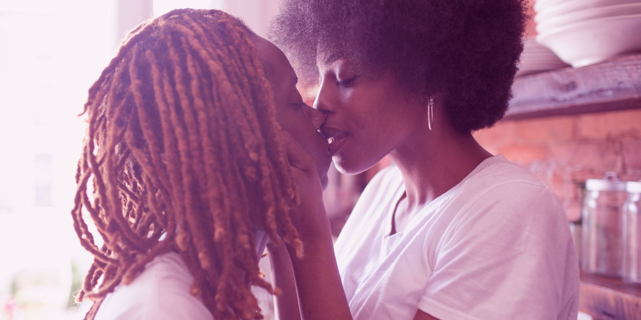 Multiple Black Kiss Porn am i a lesbian? how to know if you're a lesbian